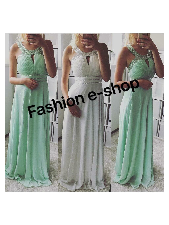 -Dámské společenské šaty Mint,XS/S