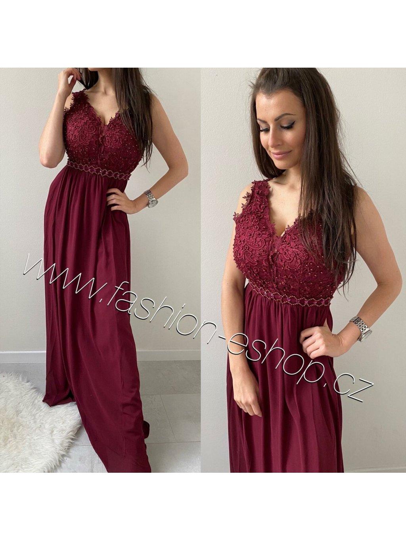 -Dámské společenské šaty Elite Světle růžová,XS/S