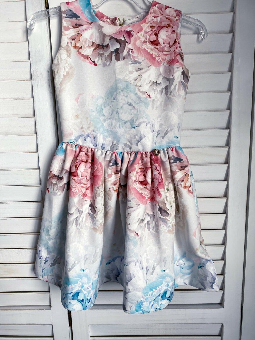 -Společenské šaty mama & dcera 116