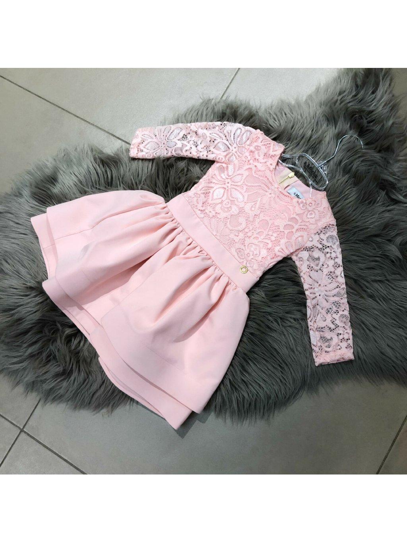 -Dětské šaty Glamour 140