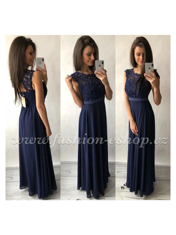 -Dámské společenské šaty meruňková,M