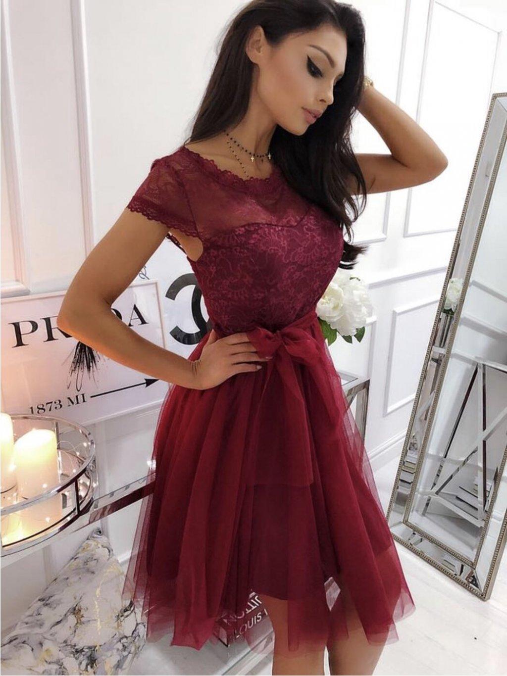 -Dámské šaty Inna Světle růžová,XS/S