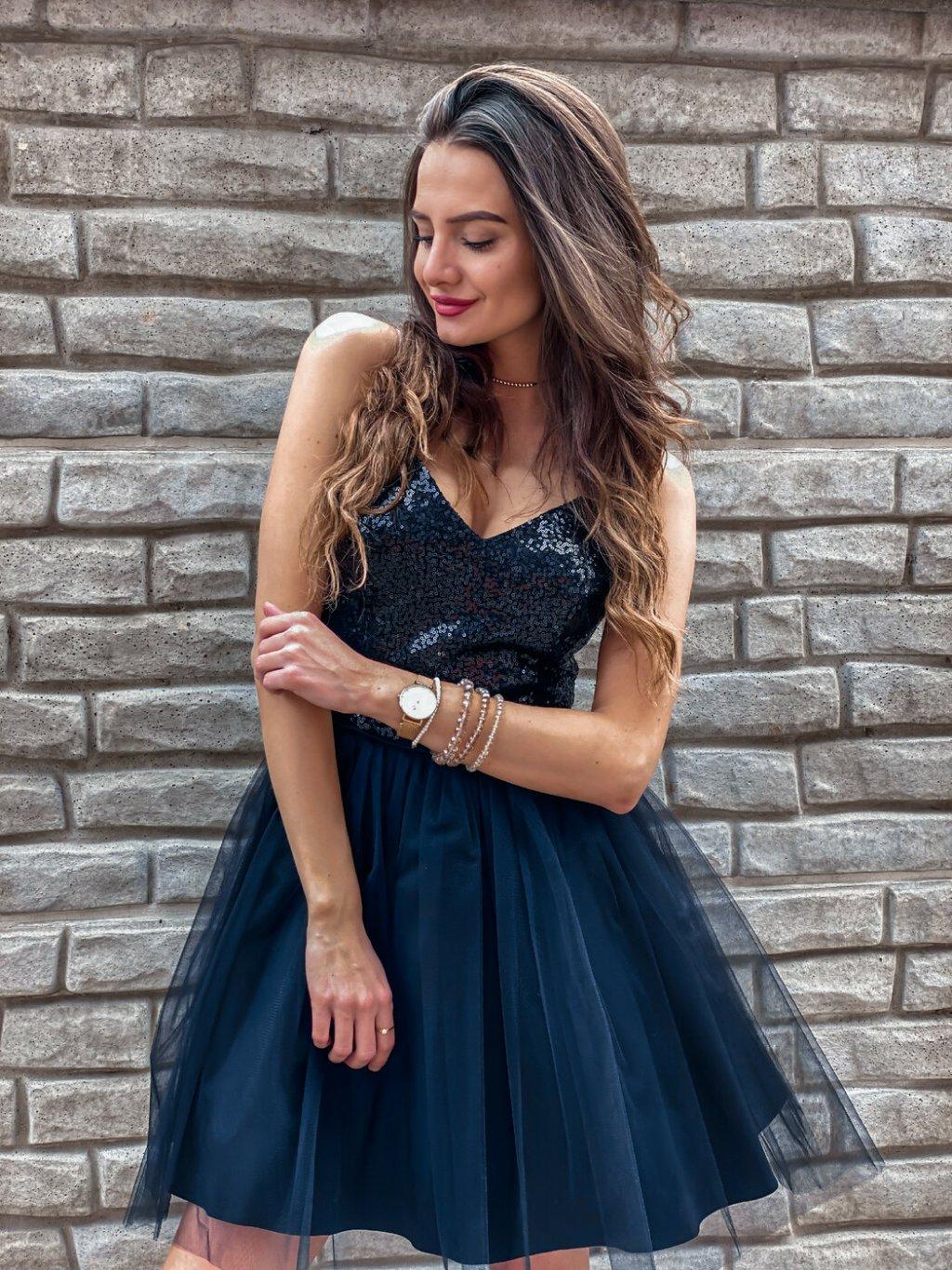 -Dámské šaty Deluxe collection XS