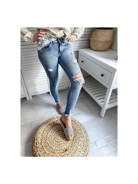 -Dámské Jeans Limited edition SIMPLY M
