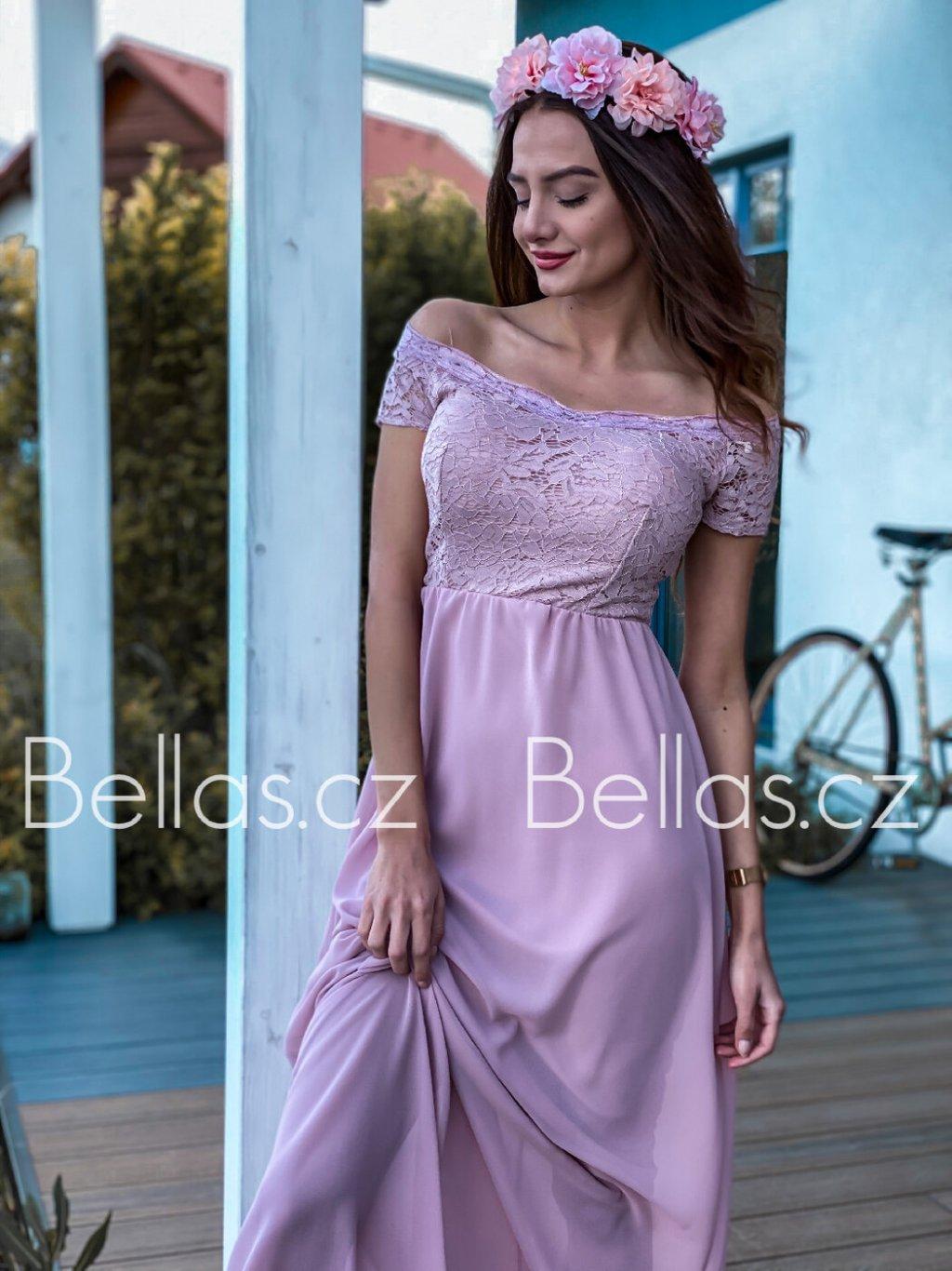 -Dámské šaty Marriana Starorůžová