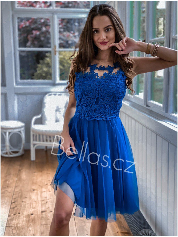 -Dámské šaty Emily Světle růžová