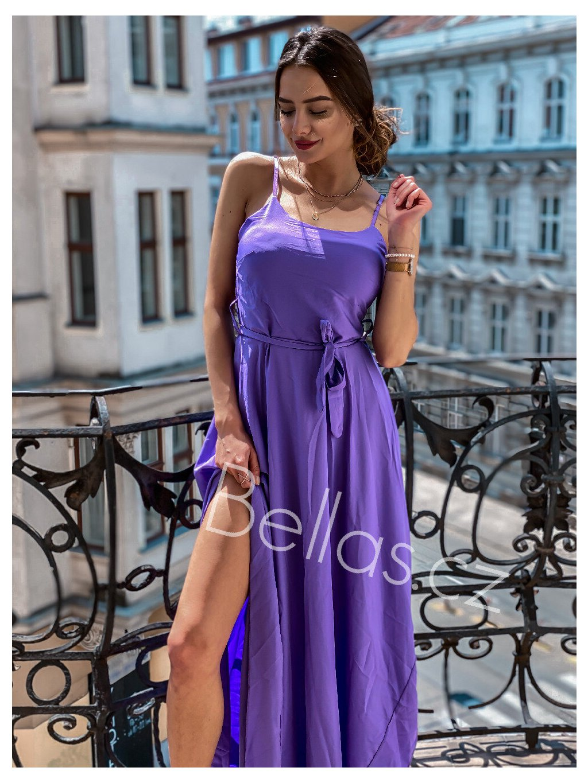 -Dámské šaty Havana Fialová