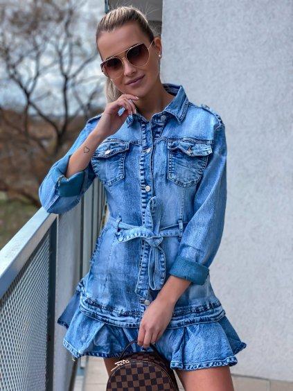 -Dámské riflové šaty Limited Jeans