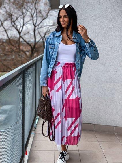 Dámská plisovaná sukně