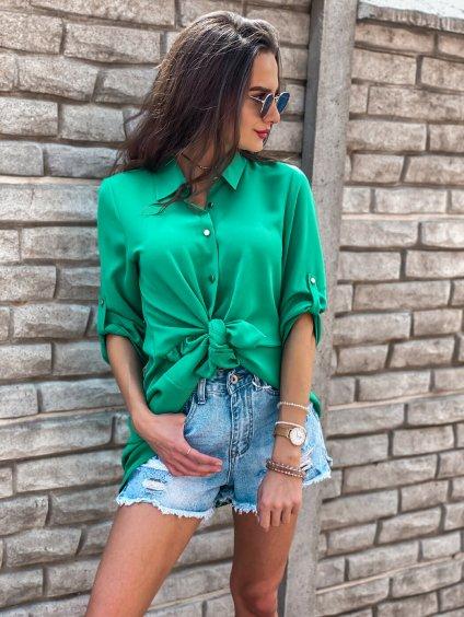 -Dámská košile Mexx Zelená,XS/S