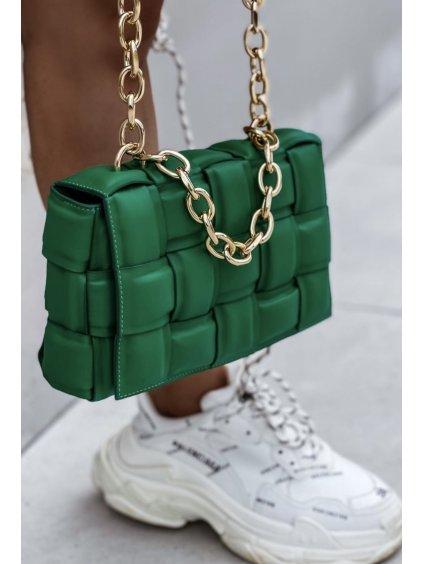 Luxusní kabelka Massimo/ ZELENÁ