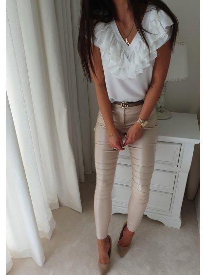 Luxusní top Leesa White
