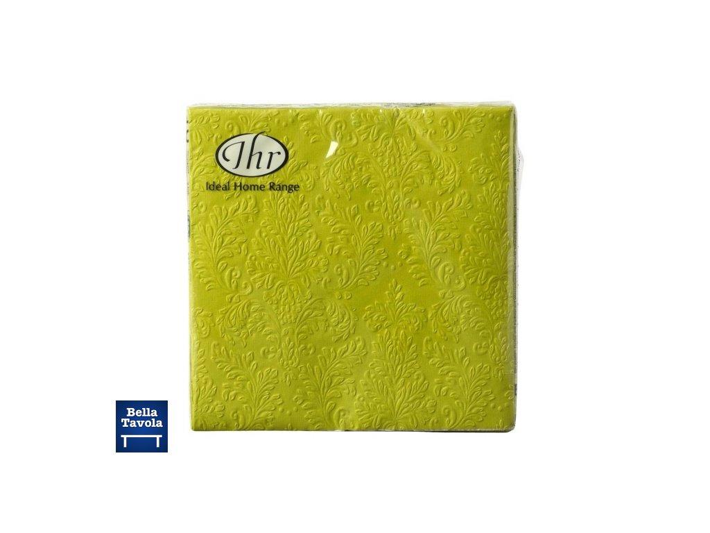 14058 papierove servitky 17x17c3cm kiwi bal 16 ks