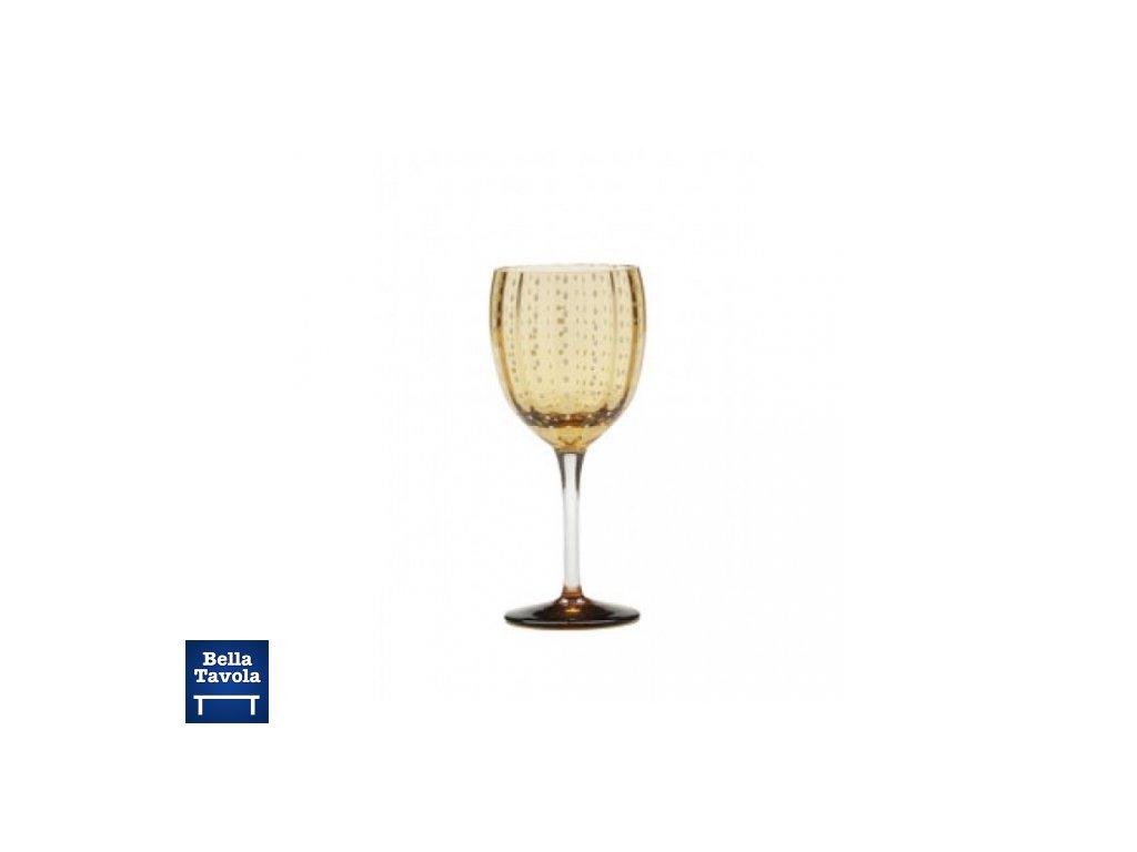 14229 zafferano pohar na vino zlty