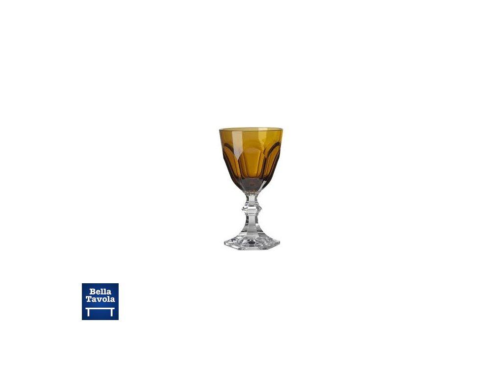14667 pohar dolce vita na cervene vino nizky jantarovy