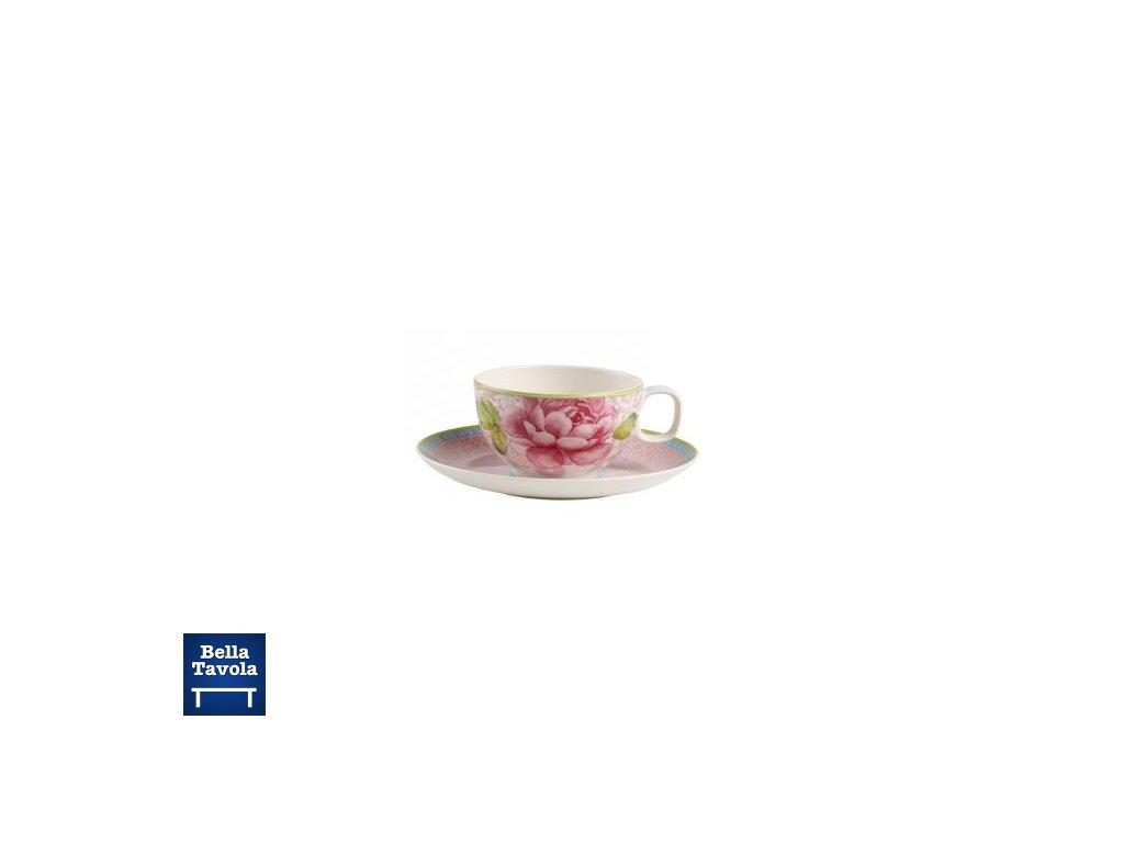15075 rose cottage salka na caj ruzova s podsalkou villeroy amp boch