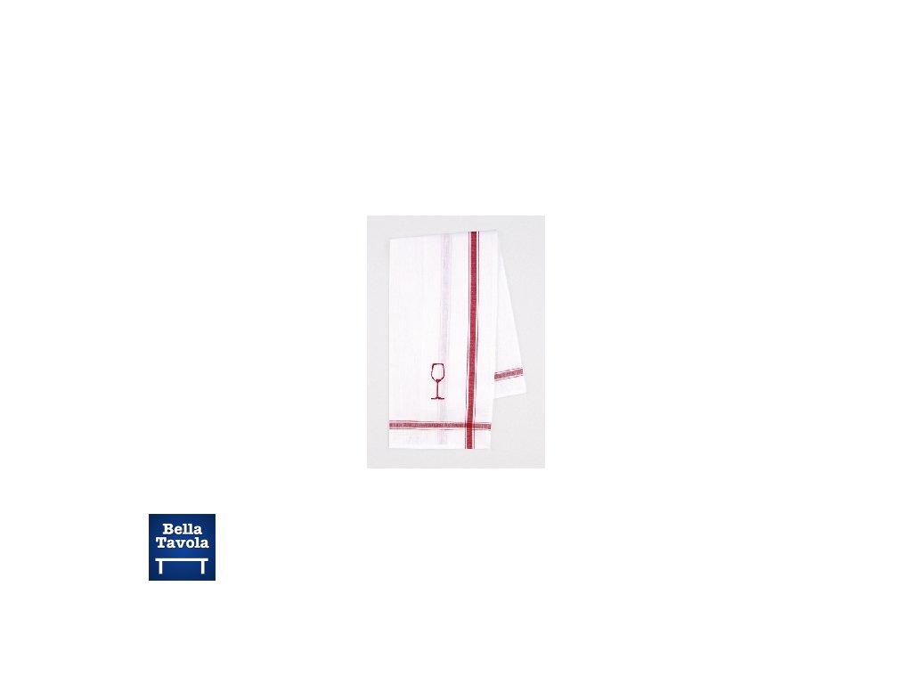 15324 meyer mayor kuchynska utierka na sklo vysivana cerveny obrazok pohara