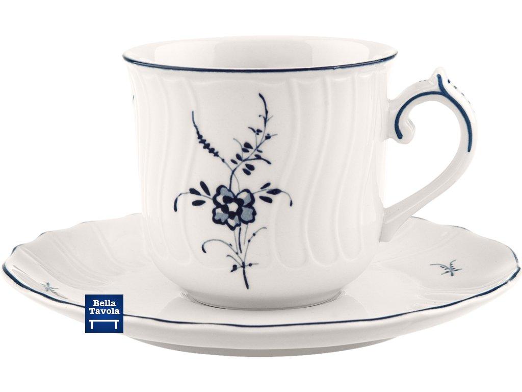 Villeroy & Boch - kávová šálka 0,2l  + podšálka - Old Luxembourg