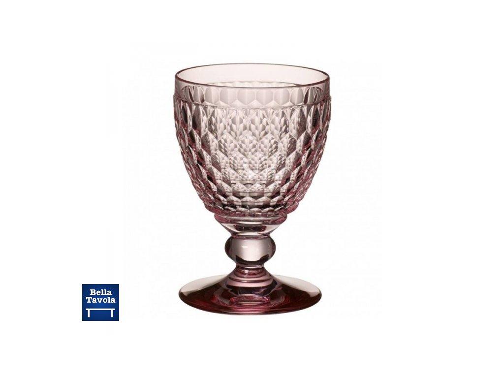 17064 boston coloured pohar na cervene vino ruzovy 132mm villeroy amp boch