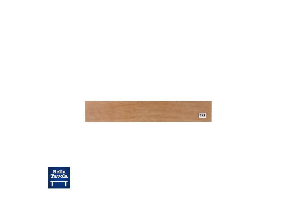 17427 kai drevena magneticka lista na noze 39x6 5 cm dub