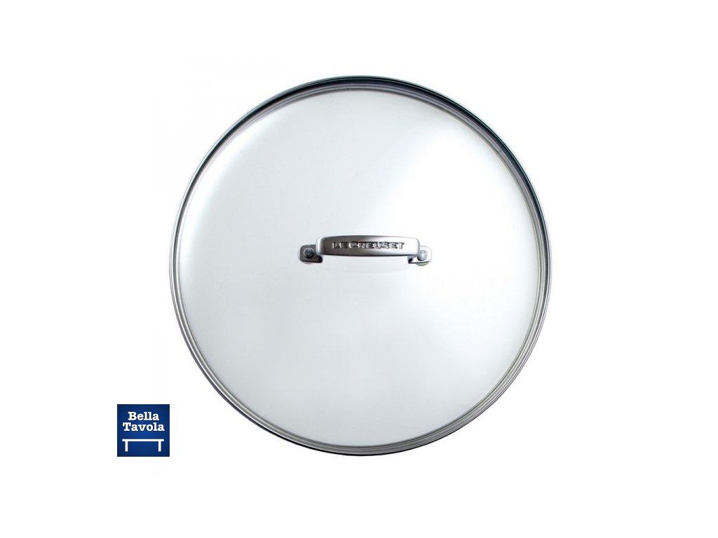 18006 le creuset sklenena pokrievka na hrnce panvice 24 cm