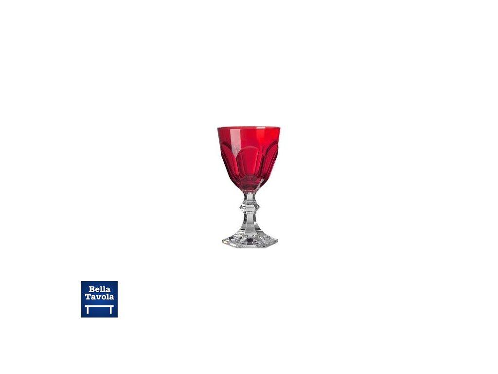 18171 pohar dolce vita na cervene vino nizky cerveny