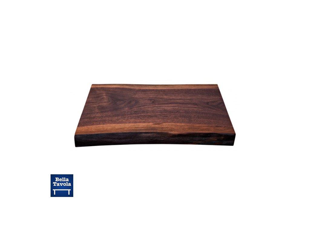 18231 kai doska na krajanie z orechoveho dreva 59x40x5 cm