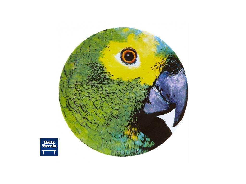 18990 vista alegre servirovaci tanier papagaj 32 cm olhar o brasil