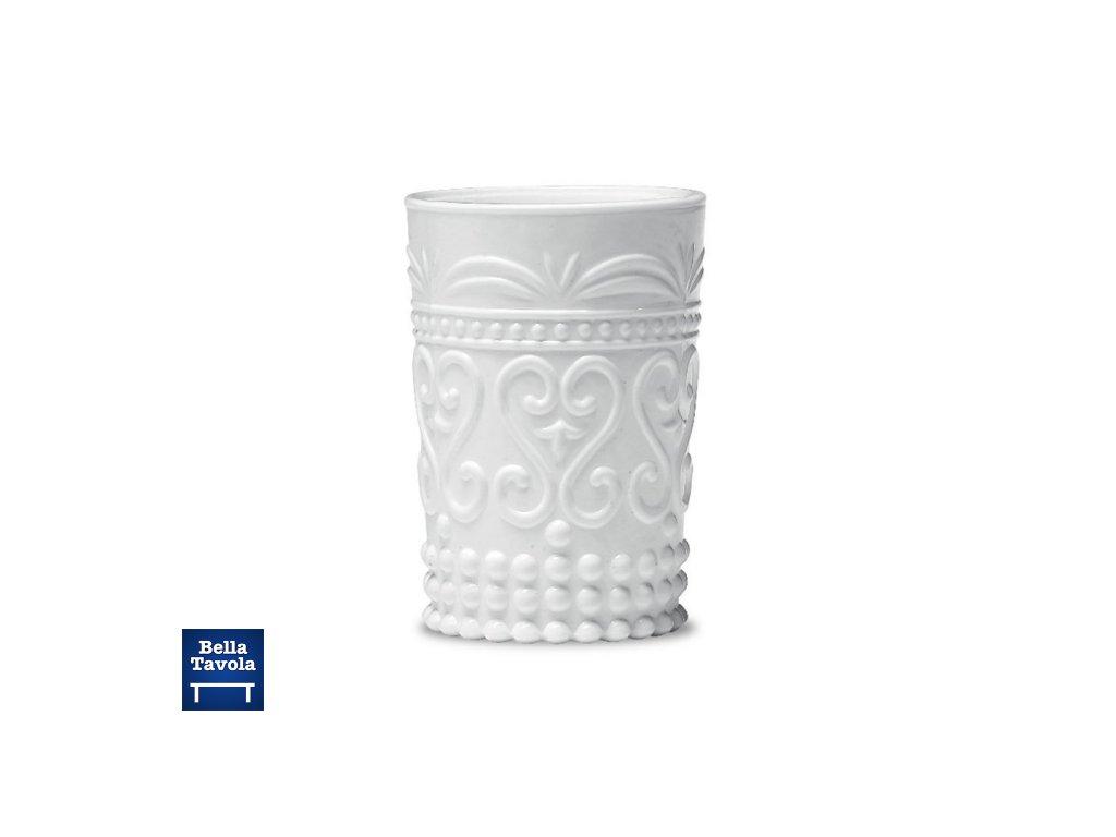 Zafferano - pohár Provenzale Rock - biely