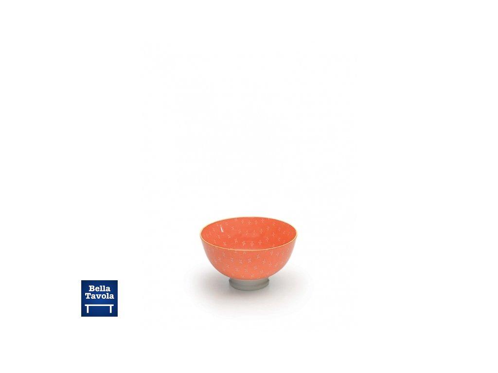 25503 zafferano mikro miska 9 5 cm oranzova tue