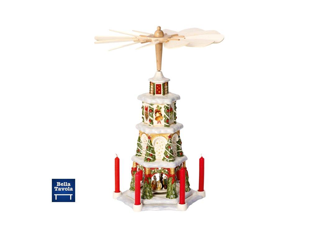 26682 christmas toys memory vianocna pyramida 41 cm villeroy amp boch