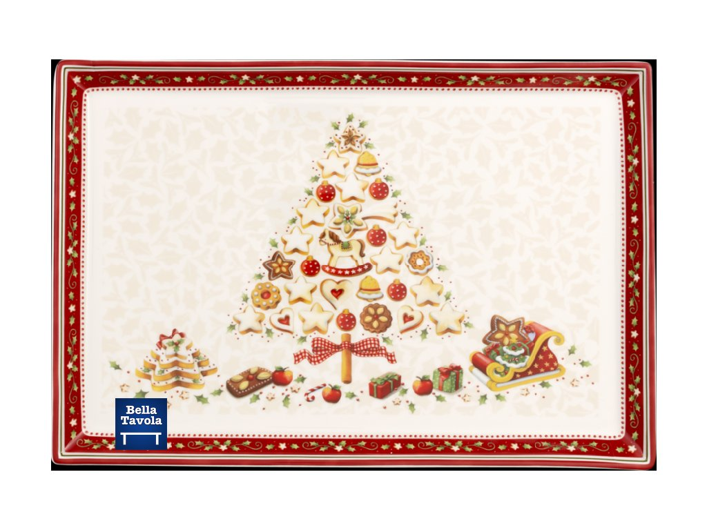26691 villeroy amp boch obdlznikovy podnos 39 x 26 5 cm winter bakery delight