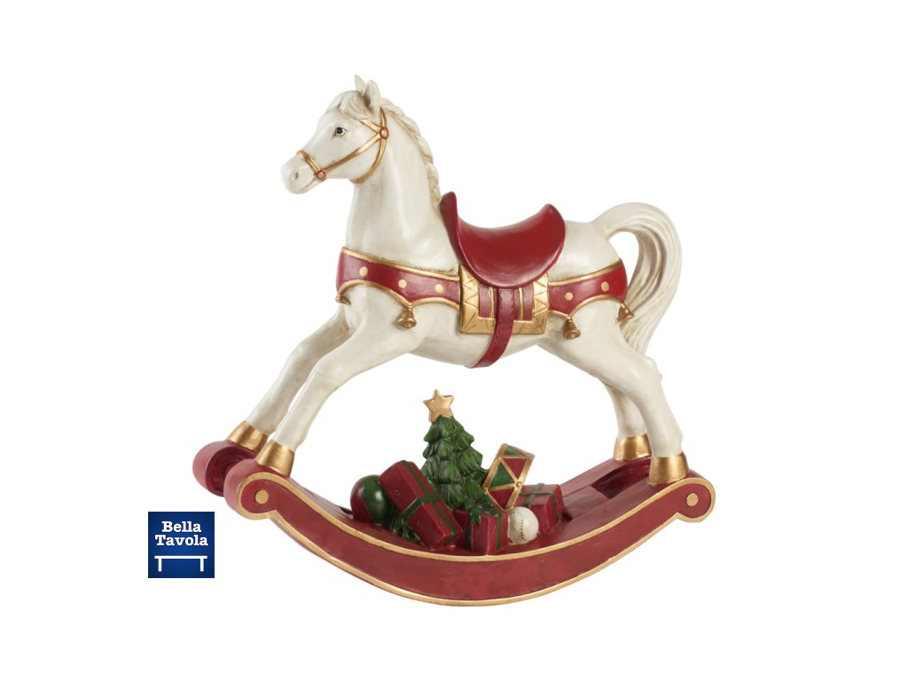Christmas Toys Accessoires - hojdací koník, 33 cm - Villeroy & Boch