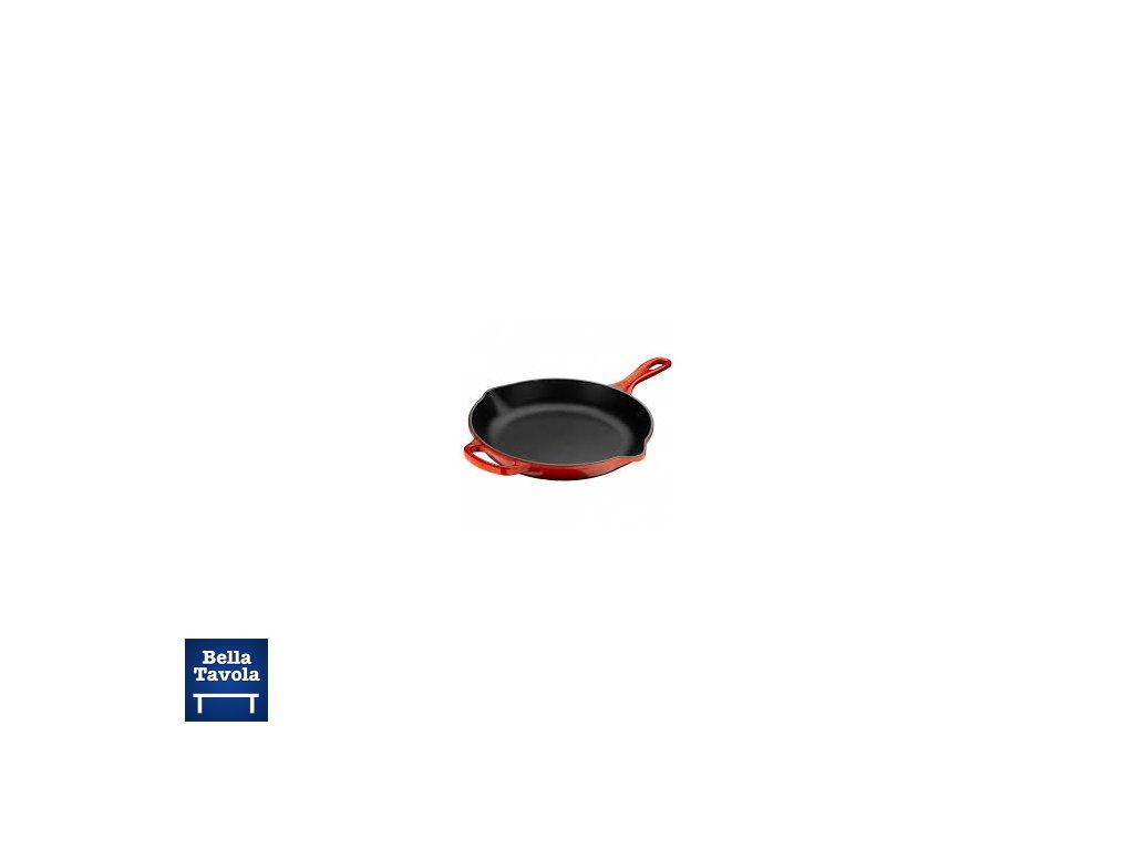 Le Creuset - liatinová panvica okrúhla 20 cm - červená