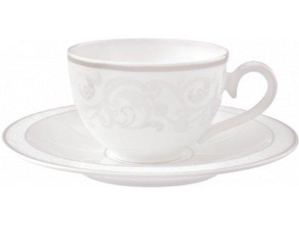 Gray Pearl - Kávová/čajová šálka 0,2 l + podšálka - Villeroy & Boch