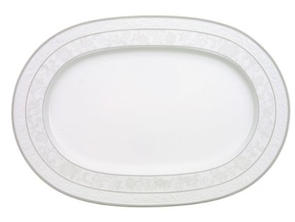 13584 gray pearl tanier ovalny 41 cm