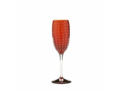 14244 zafferano pohar na sampanske cerveny