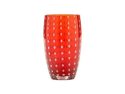 14256 zafferano pohar perle cerveny