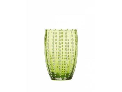 14484 zafferano pohar perle zelene jablko