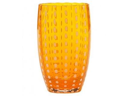 14727 zafferano pohar perle oranzovy