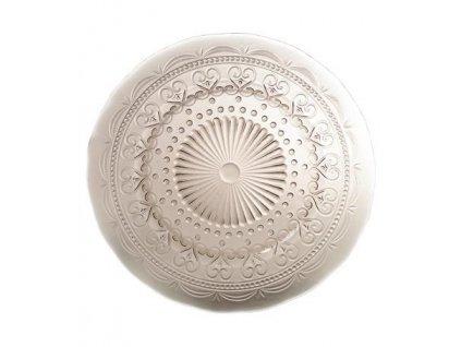 15093 zafferano provenzale tanier stredny 28cm sivy