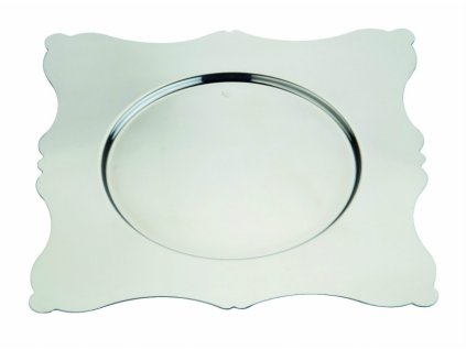 16560 mepra podkladovy tanier 32 cm dolce vita stvorcovy nerezova ocel