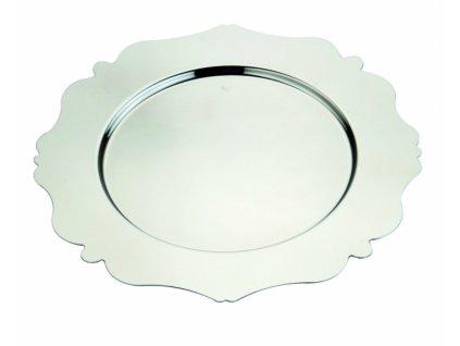 16563 mepra okruhly podkladovy tanier 32 cm dolce vita nerezova ocel
