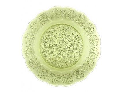 16689 zafferano tanier 32 5cm barocco zeleny