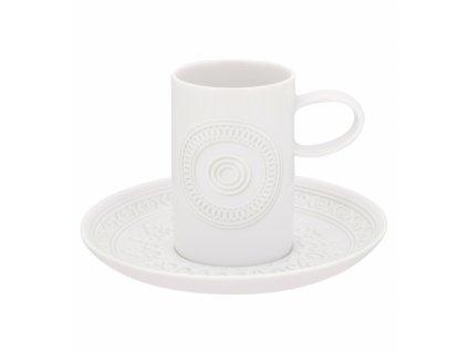 18747 vista alegre kavova salka a podsalka ornament