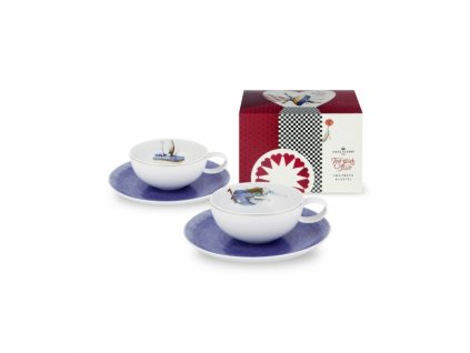 18765 vista alegre set 2 cajovych salok a podsalok krabicka caju tea with alice
