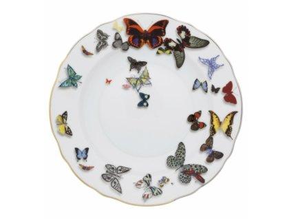 18801 vista alegre hlboky tanier 23 cm butterfly parade
