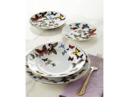18849 20 vista alegre zakladny set 30 ks pre 6 osob butterfly parade 3d efekt vyzdoba by ch lacroix