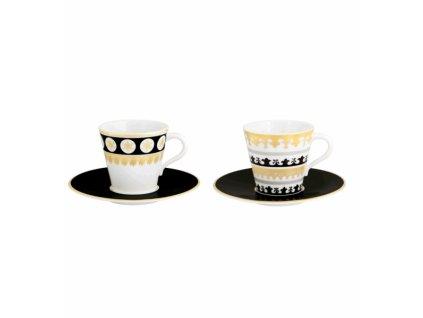 18852 vista alegre set 2x kavova salka 2x kavova podsalka capuleto