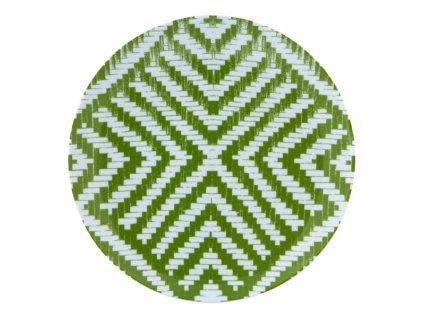 18996 vista alegre plytky tanier zeleny 27 7 cm olhar o brasil